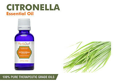 Citronella Essential Oil 100% Pure Natural PREMIUM Therapeutic Grade Oils