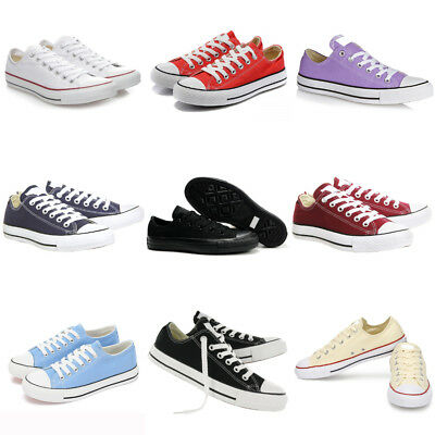 Low Tops Mens Womens Canvas Star Chuck All Colour Trainers Sneakers Shoes Lot C1
