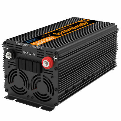 2000W 4000W Convertisseur DC 12V à AC 220V Onduleur Power Inverter softstart RV