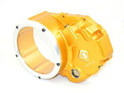 Ducabike Ducati Monster 1200 Clear Clutch Cover - Gold-Silver