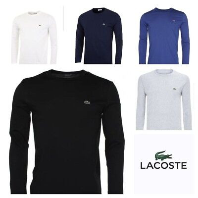 Lacoste Long Sleeve Men's Crew Neck T-Shirt