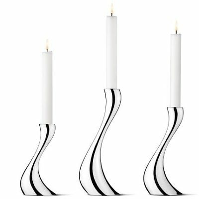 Georg Jensen COBRA candleholder, small, medium (existing), large