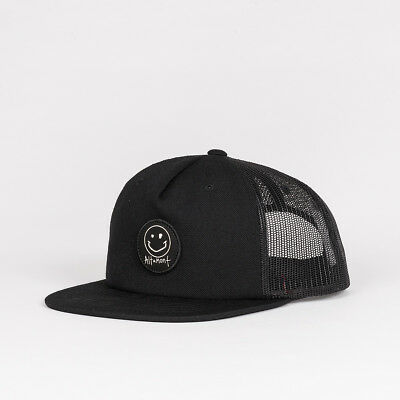Altamont x Reynolds Smiley Cap Black