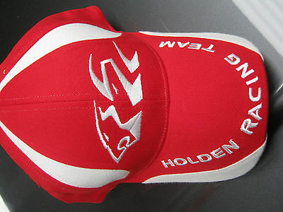 Holden Racing Team / Mens Classic Cap / Red With Tag / One Size Fits All