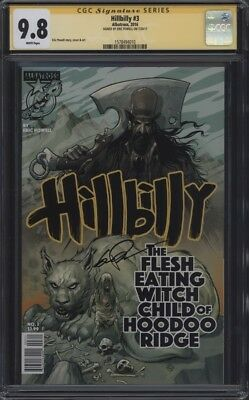 Hillbilly #3 CGC 9.8 Signature Series SS Signed by Eric Powell Goon