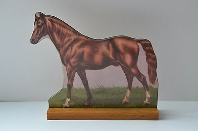 American Saddle Horse VINTAGE LOOK STAND-UP BARNYARD FARM ANIMAL NWT