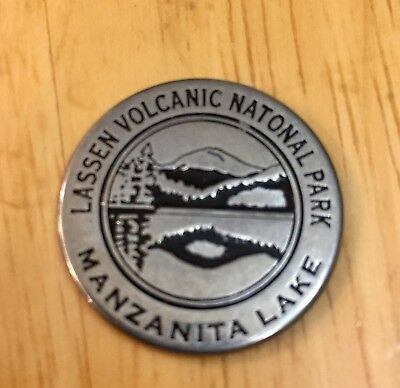 Lassen Volcanic National Park Token - Manzanita Lake