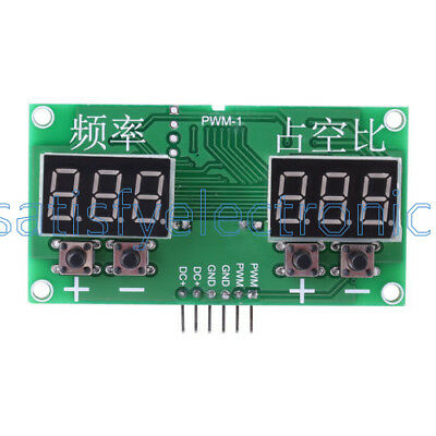 PWM Pulse 0-99% Frequency 6Hz-100KHz Square Wave Signal Generator Duty Cycle SF