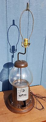 Gumball Machine Table Lamp Coin-Operated-Circa-1970s-WORKS