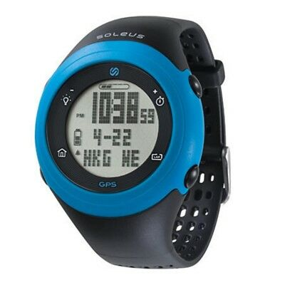 Soleus GPS Fly Black/Blue