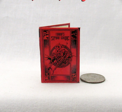 TOBIN SPIRIT GUIDE 1/6 Scale Miniature Illustrated Book Ghost Busters Gozer