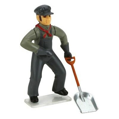 Bachmann 92316 G-Scale Fireman with Shovel Posable Scenery Figure