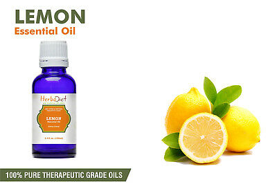 Lemon Essential Oil 100% Pure Natural PREMIUM Therapeutic Grade Oils