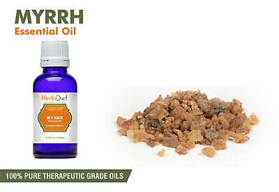 Myrrh Essential Oil 100% Pure Natural Uncut PREMIUM Therapeutic Grade Oils