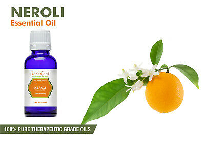 Neroli Essential Oil 100% Pure Natural PREMIUM Therapeutic Grade Oils