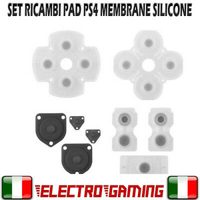 Set ricambio bottoni per controller PS4 Silicone Sony ricambi dualshock 4 - BE57