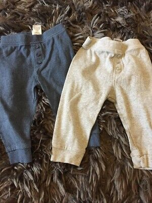 Baby Boys Joggers Age 9-12 Months