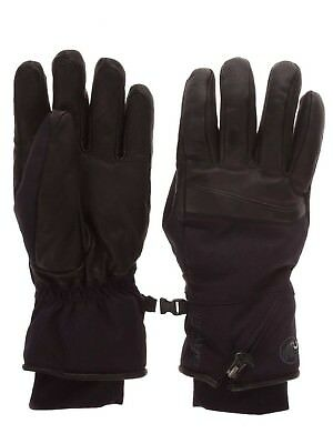 (Black, 6) - Gloves Men Mammut Stoney Gloves. Delivery is Free