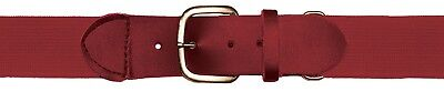 (Youth, Cardinal) - Champion Sports Elastic Uniform Belt. Shipping Included