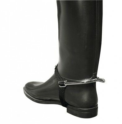 Kerbl Pair of Spurs with spur straps, 25 MM, 321260. Best Price