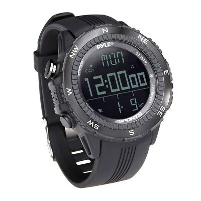 (Black) - Pyle Digital Sports Watch. Delivery is Free