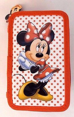 Disney Minnie Mouse Markers Colored Pencils Ruler Art Or School Stationery Set