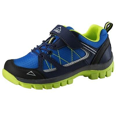 (Blue Royal/Green lime, 38) - McKinley Multi shoe Maine AQB Jr. Shipping is Free