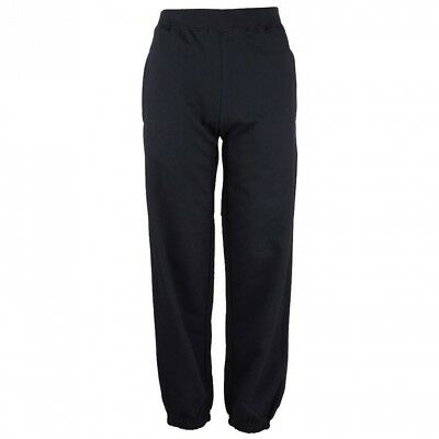 (12-13 Years, French Navy) - Just Hoods AWDis Kids Cuffed Jogging Pants