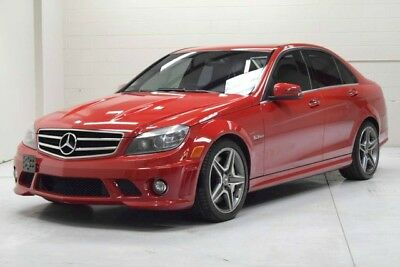 2010 Mercedes-Benz C-Class Base Sedan 4-Door 2010 Mercedes Benz C63 AMG low miles Mars Red exterior major service done