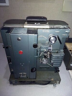 Vintage RCA Model 400 16mm Film Projector w/Accessories and Case