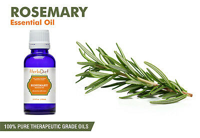 Rosemary Essential Oil 100% Pure Natural PREMIUM Therapeutic Grade Oils