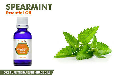 Spearmint Essential Oil 100% Pure Natural PREMIUM Therapeutic Grade Oils