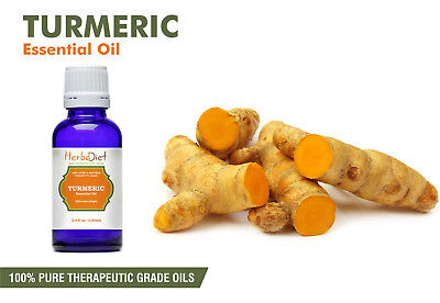 Turmeric Essential Oil 100% Pure Natural PREMIUM Therapeutic Grade Oils