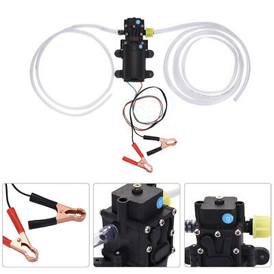Battery Clip Oil Transfer Scavenge Pump Extractor For Cars Vans Motorcycles 60W