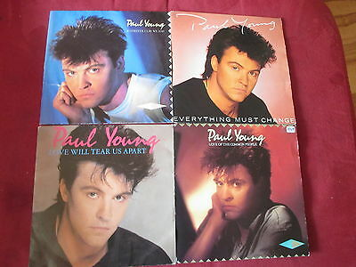 Paul Young - 4 Singles