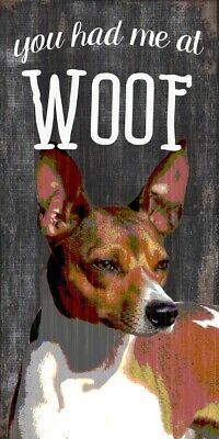 Rat Terrier Sign – You Had me at WOOF 5×10