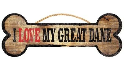 Great Dane Sign – I Love My Bone 3×10