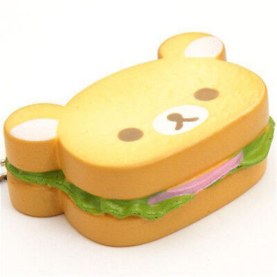 Brot Bär Tragen Squeeze Stretch Compress Squishy Slow Rising Stress Relief Toy