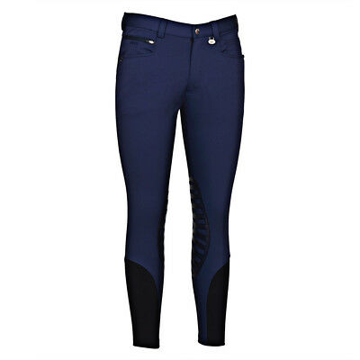 George H Morris Men's Rider Knee Patch Breeches Sizes 30-40