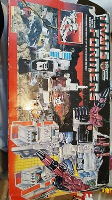 transformers autobots battle station. Boxed. By Hasbro. Vintage 80s retro toy