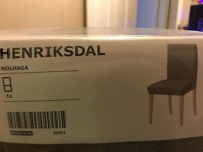 Ikea Chair Covers Henriksdal x2