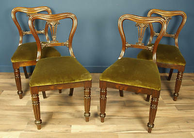 Set Of 4 William Iv Rosewood Dining Chairs Circa 1835 By Gillow Of Lancaster