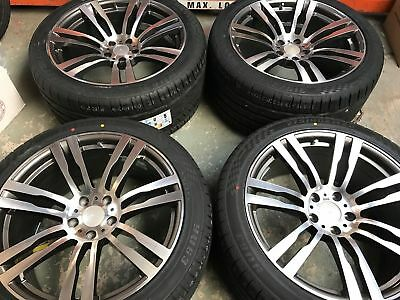 "20"" BM820 Staggered Alloy Wheel and Tyre Set of 4 to fit BMW X5 (Ex-Display)"