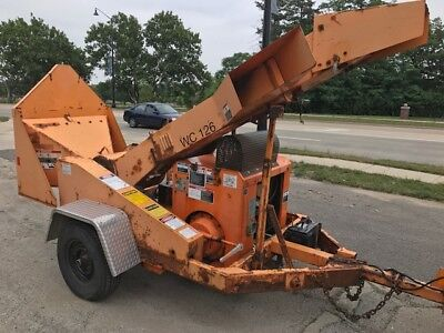 2007 Wc126 Drum Wood Chipper With 4 Cylinder (2.3L) Gas Engine