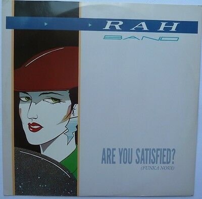 """Rah Band - Are You Satisfied - 12"""" Vinyl"""
