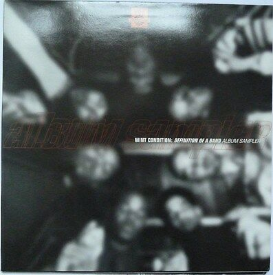 "Mint Condition - Definiton Of A Band - 12"" Vinyl Album Sampler - Gatefold"