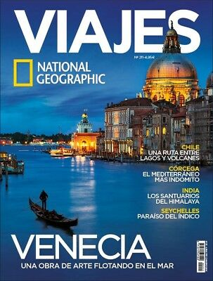 Viajes National Geographic Spanish Magazine Issue 211 - October 2017 - Venice
