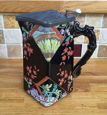 Rare Art Deco Hot Water Jug By Kensington Stoke On Trent England