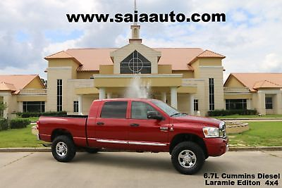 2008 Dodge Ram 2500  2008 Red NO FLOOD One Owner Clean Car Fax!