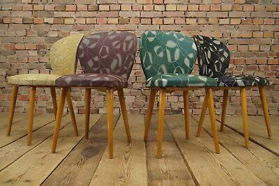 4 x dining room chairs rockabilly design Set 50er Years Vintage
